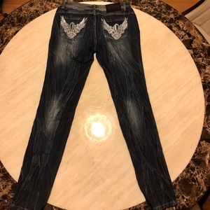 New Dereon Wings of Angles Jeans Size 27/28